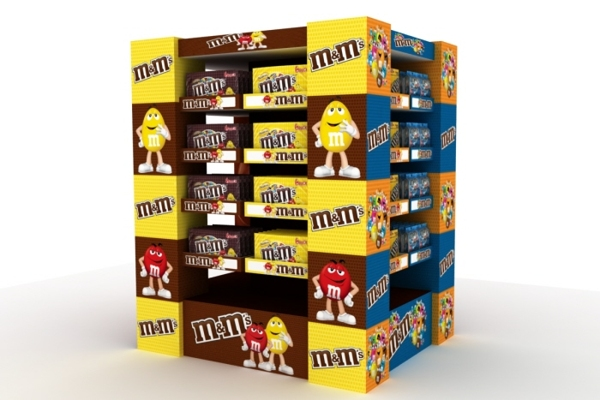 M&Ms Display
