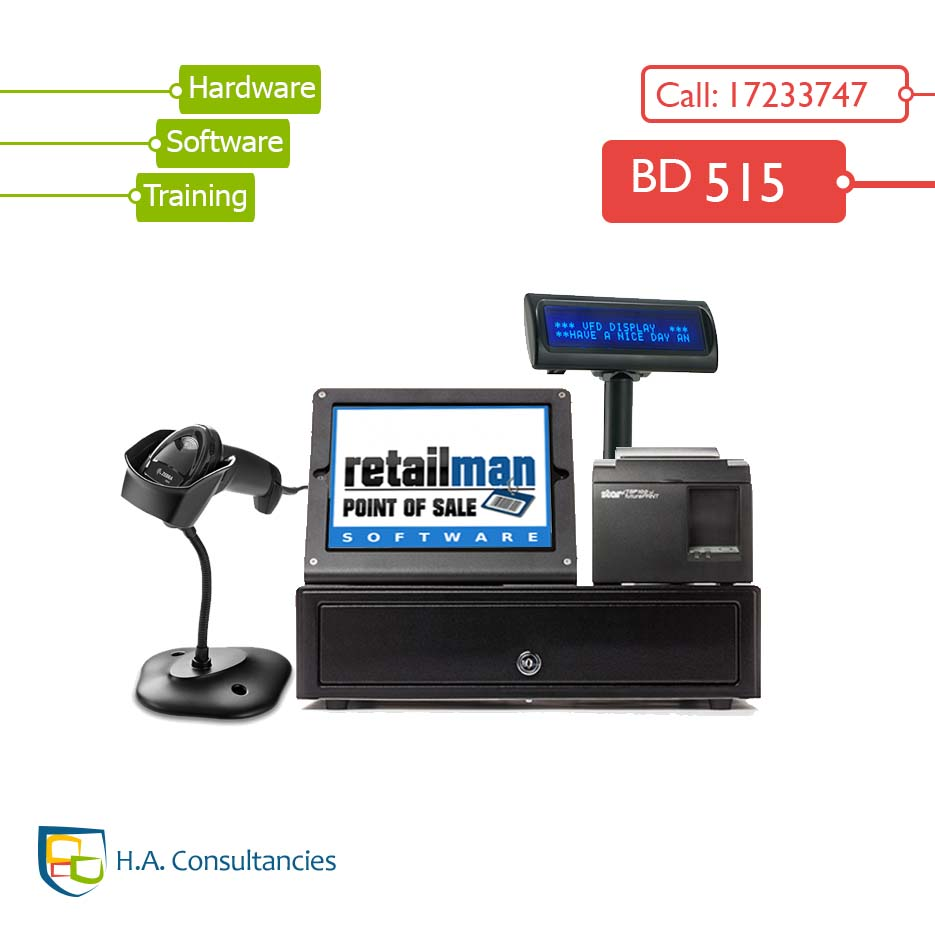 Bahrain Retail Man Pos System Offer H A Consultancies